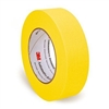 3M Yellow Automotive Refinishing Masking Tape 1 1/2 Inch, 1 Sleeve of 6