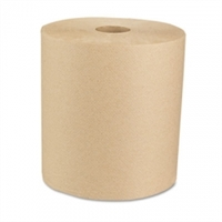 "BWK Green Roll Towels, Natural, 8""x800' , Case of 6"
