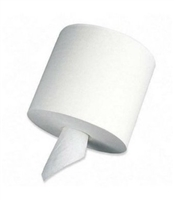 "Paper Towel Roll, 2ply Center Pull, 8"" x 10"" White (6 rolls of 600)"