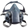 3M Professional Series 1/2 Face Multi-Purpose Respirator, 7000 Series - Large