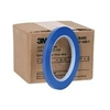 "1/4"" Blue Fineline Vinyl  Masking Tape, .25"" x 36YD, 12/ Sleeve"