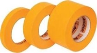 1 Inch Orange Masking Tape (24MM x 54.80M), 1 Sleeve of 9 rolls
