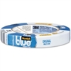 "3/4"" 14 day Blue Tape, 18MM x 55M, 12 per Sleeve"
