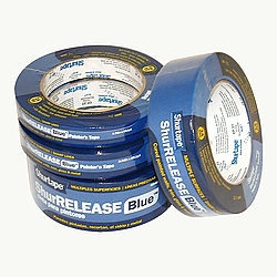 "1"" 14 day Blue Tape, 24MM x 55M, 36 per case"