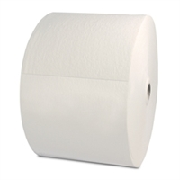"White Heavy Weight Spunlace  X70 wiper, 12"" x 12"" - Roll of 870"