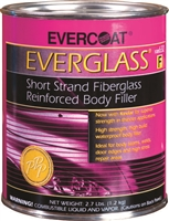 Evercoat Everglass Short Strand Fiberglass Filler, Gallon