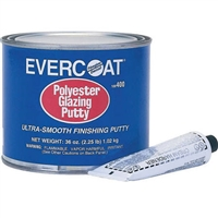 Evercoat Polyester Glazing Putty - 100407, Half Gallon, 5.5lbs
