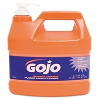 GOJO Orange Pumice Hand Cleaner w/pump, 1 Gallon