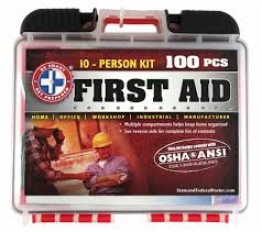 10 Person Contruction First AID Kit
