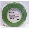 "1/4"" (6mm) x 55m 233+ green fineline masking tape, 1 roll"