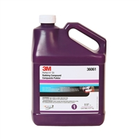 3M 36061 Xtra Cut Rubbing Compound  - 1 GAL
