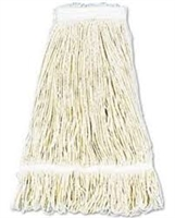 Mop Head - 24 oz, Cotton, Clamp on