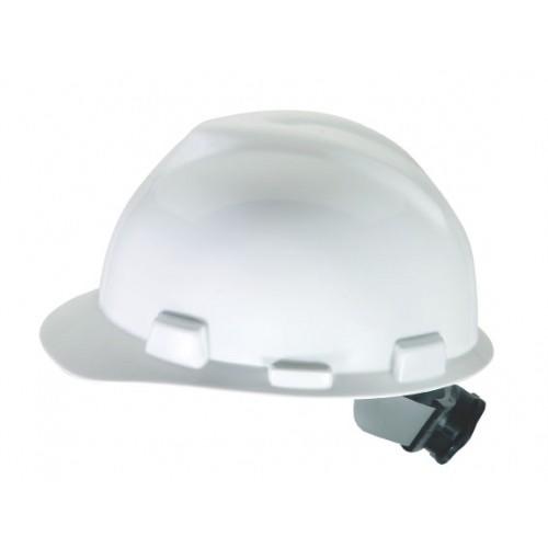 25a626d558e MSA V-Gard Standard Cap White Fas-Trac Suspension
