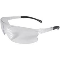 Radians Serrator Clear Safety Glasses, Box of 12
