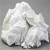 White Knit Cotton T-Shirt Rags - 150 Pound Bale